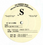 "EROTICA - USA TEST PRESSING 12"" PROMO VINYL"